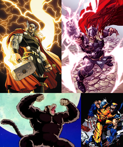 thor vs supers 4 Superman vs Thor