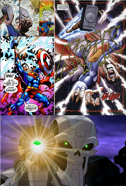 thor vs supes 2 Superman vs Thor