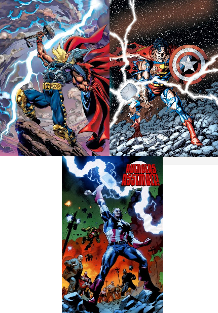 thor vs supes 6 Superman vs Thor