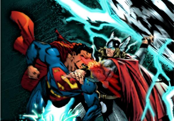 Thor vs Superman
