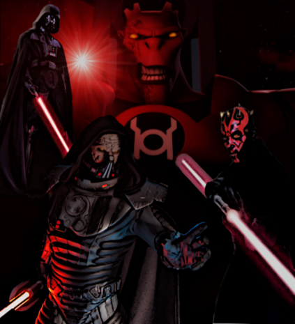 Red Lantern Corps: Sith Lords